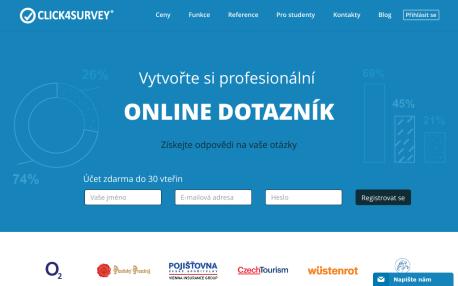 Dotazníky online - Click4survey