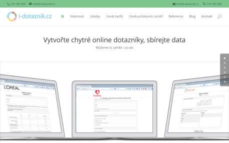 Online dotazníky - i-dotazník