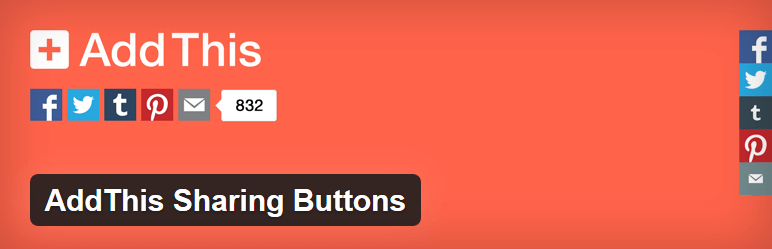 AddThis - sharing buttons