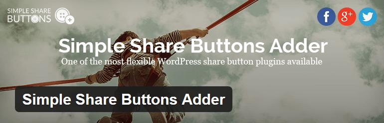 Simple Share Buttons - moderní responzivní tlačítka pro sdílení