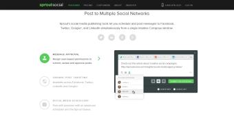 Sproutsocial - zveřejnění příspěvků