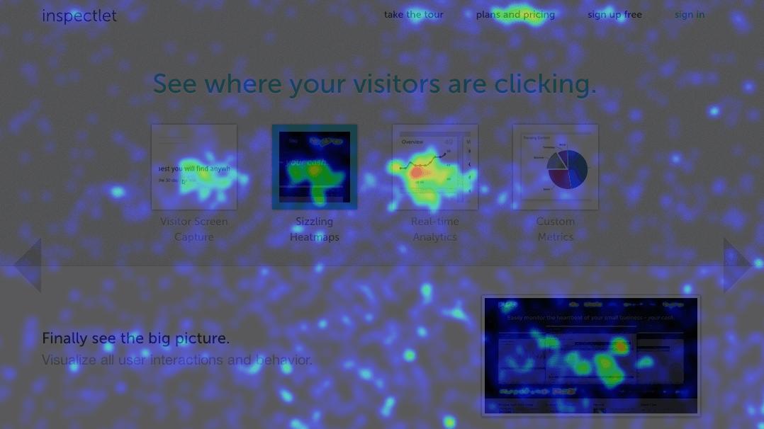 Heatmapy – zjistěte kam návštěvníci webu klikají