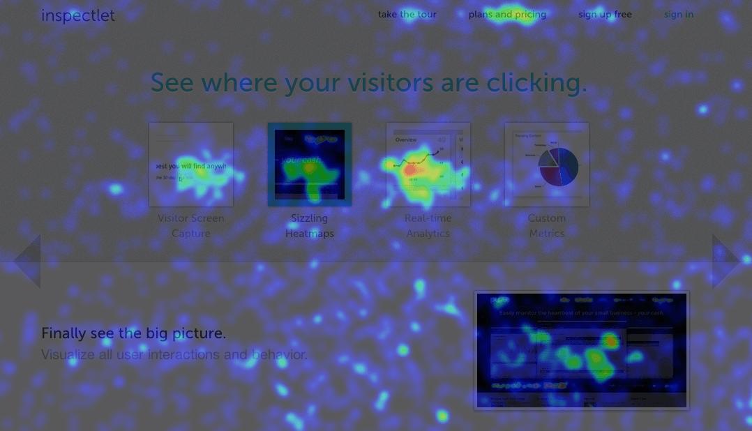 Heatmapa - zjistěte kam návštěvníci webu klikají