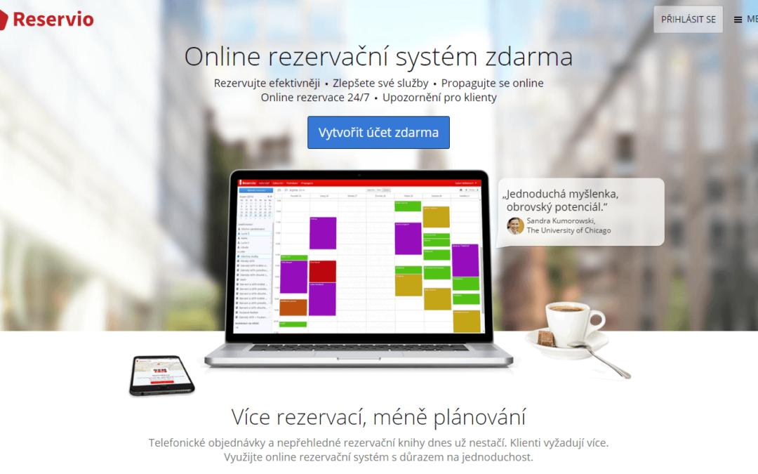 Online rezervační systém ZDARMA + Návod