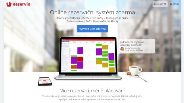 Online rezervační systém zdarma