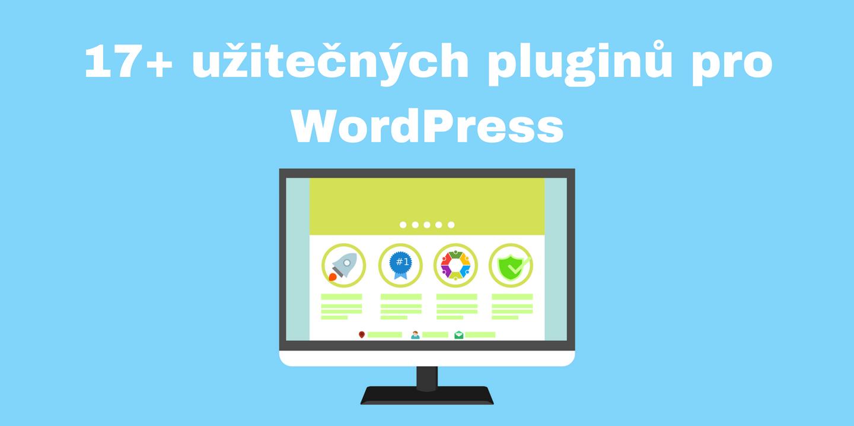 Užitečné/nejlepší pluginy pro WordPress