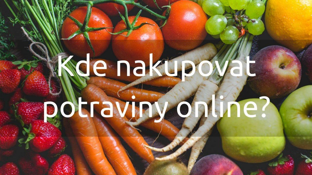 4 online supermarkety, kde můžete nakupovat potraviny z domova
