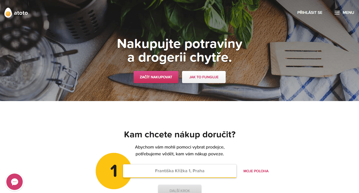 Atoto.cz - srovnávač online supermarketů