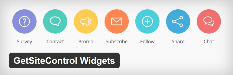 Nejlepší a užitečné pluginy pro WordPress - Getsitecontrol