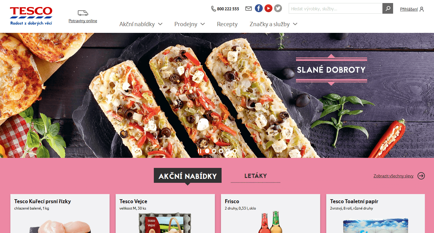 iTesco.cz - online supermarket (nákup potravin)