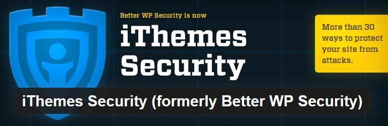 Nejlepší a užitečné pluginy pro WordPress - iThemes Security