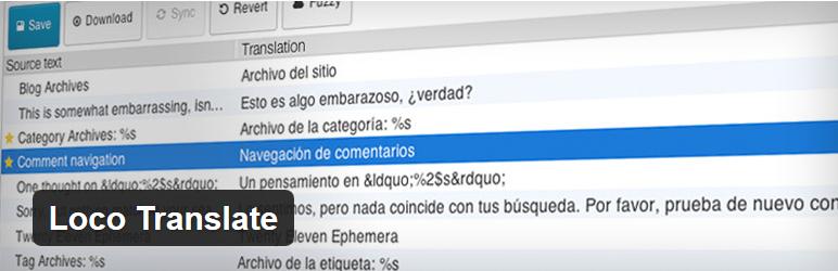 Nejlepší a užitečné pluginy pro WordPress - Loco Translate
