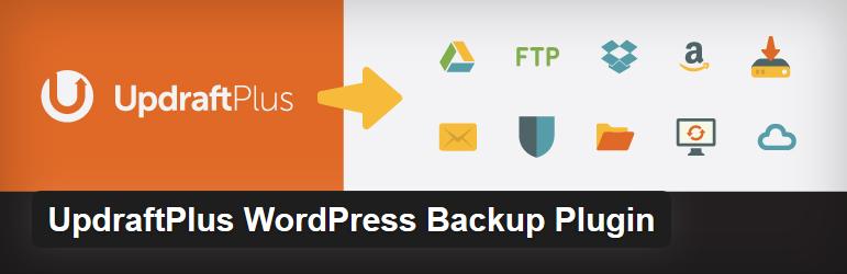Nejlepší a užitečné pluginy pro WordPress - UpdraftPlus