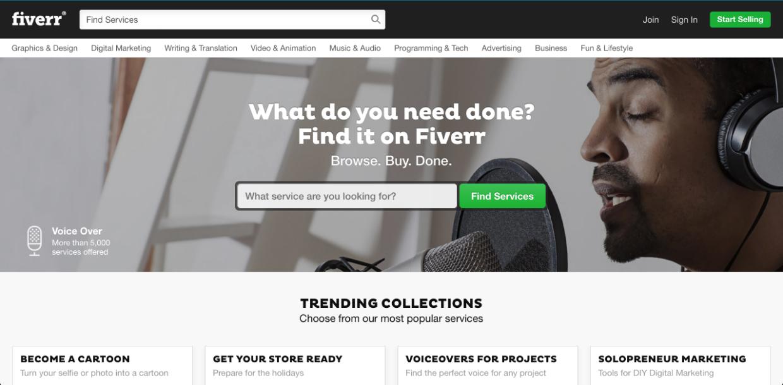 Fiverr (mikroslužby)