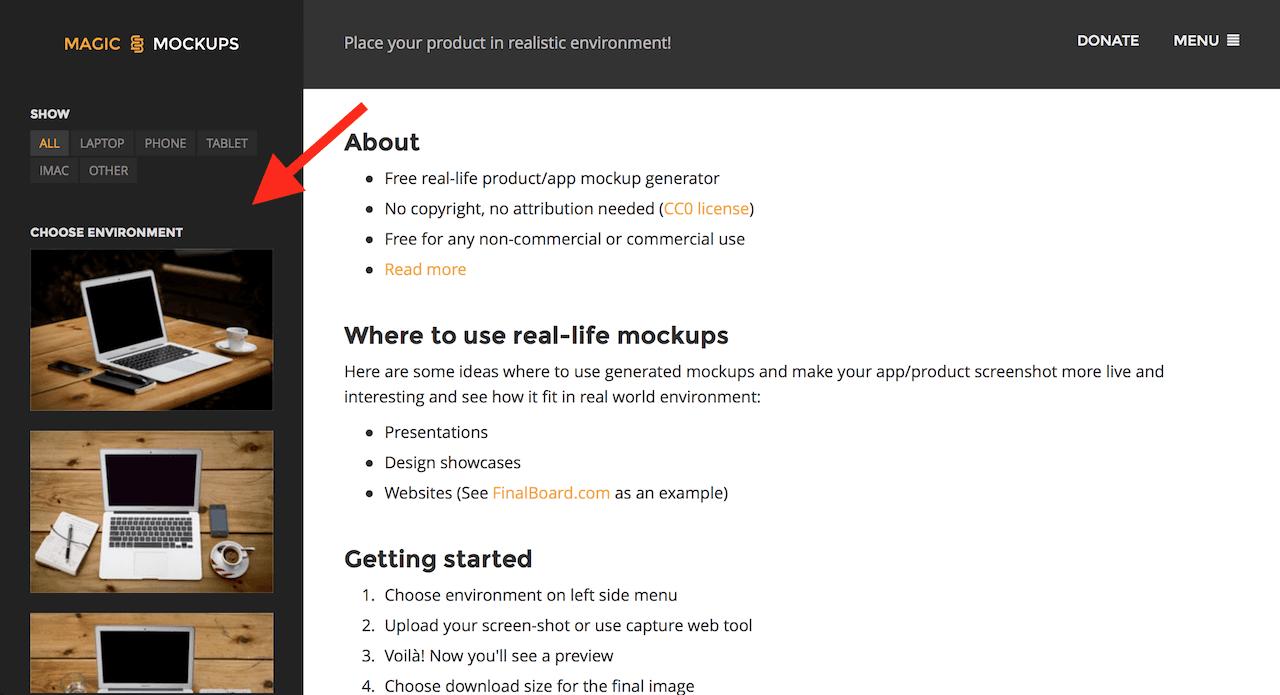 Jak vytvořit náhled webu (magicmockups) 7