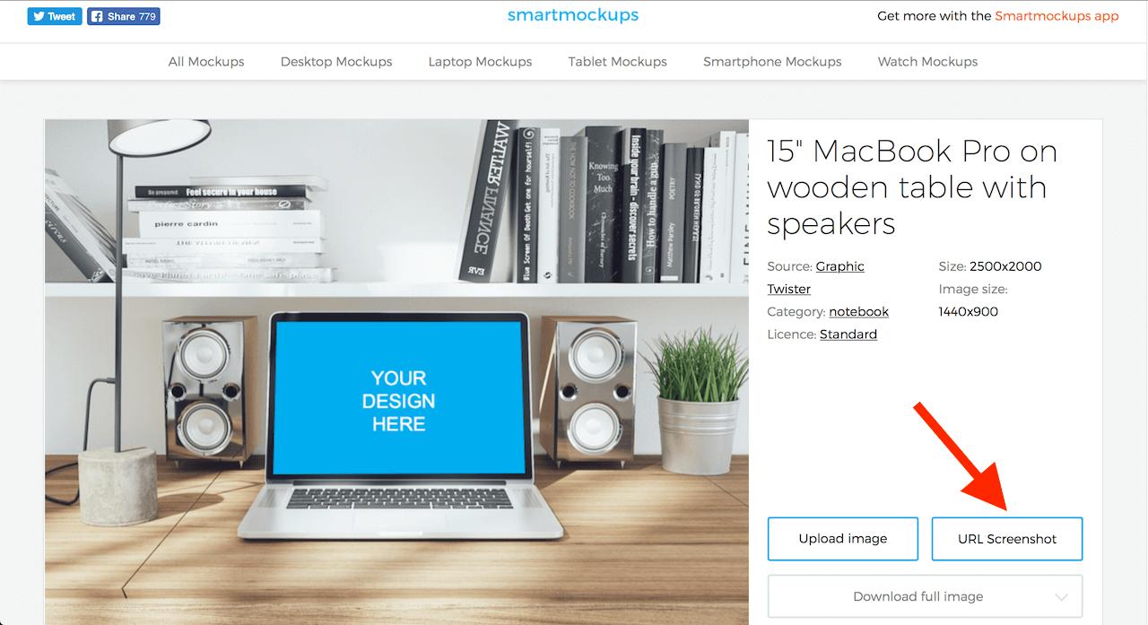 Jak vytvořit náhled webu (smartmockups) 3