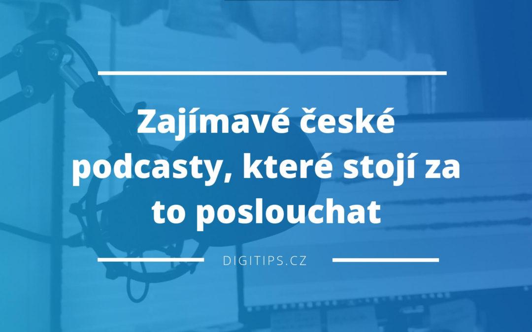 Zajímavé české podcasty, které stojí za to poslouchat