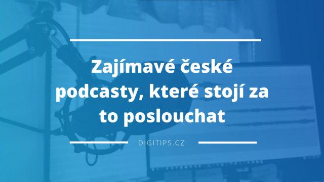Zajímavé české podcasty, které stojí za to poslouchat (podnikání, marketing)